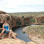 At the Yardie Creek Gorge