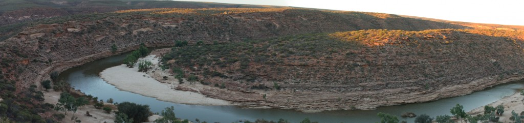 The Loop panorama no. 2, Kalbarri NP