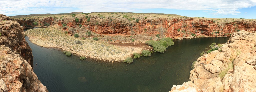 Panorama of Yardie Creek Gorge