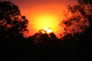 Sunset over Litchfield NP