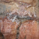 Spectacular Aboriginal rock art