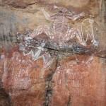 Spectacular Aboriginal rock art