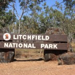 Entry to the Litchfield NP