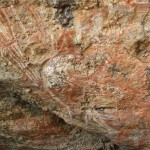 Aboriginal rock art: a kangaroo