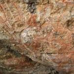 Aboriginal rock art: a kangaroo