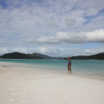 Me at Whitehaven Beach