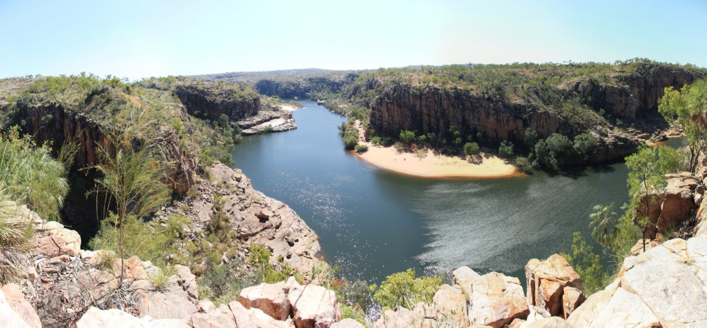 Katherine Gorge from Pat's Lookout