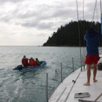 Departing for Whitehaven Beach