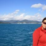 The sailing trip starts