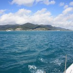 Leaving Airlie Beach behind