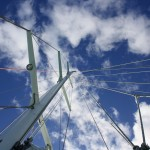 Mast and ropes of our Maxi yacht