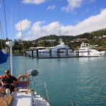 Departure from Airlie Beach
