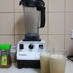 The magic blender and two awesome icecoffees
