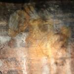 Aboriginal rock art: Barramundi fish