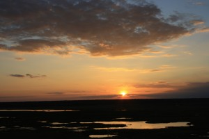 Sunset at Ubirr