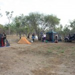 Campsite at Sandy Billabong