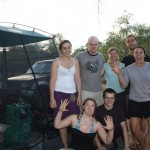 Camping crew at Sandy Billabong