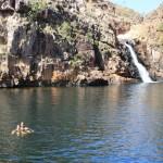 Swimming at Maguk