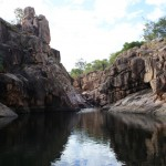 Upper Rock Pools at Gunlom Falls