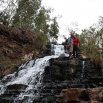 Us at the Fortescue Falls