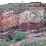 Hamersley Gorge's magnificient colours