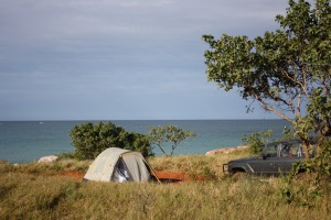 Campspot at Quondong Beach, Dampier Peninsula