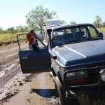 Bogged down near Tunnel Creek