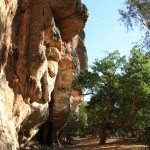 The trail in Windjana Gorge