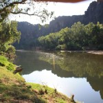 View of Windjana Gorge
