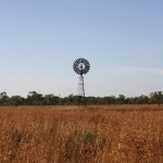 Wind wheel on the Gibb River Road