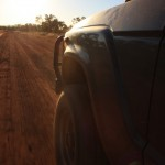 Into the sunset on the Gibb River Road