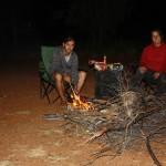 Campfire at Carolines Pool