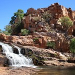 Champagne Springs waterfall