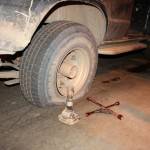 A flat tyre - what a shock!