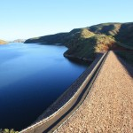 Lake Argyle and the dam