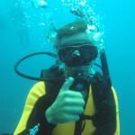 Sweetie wreck diver