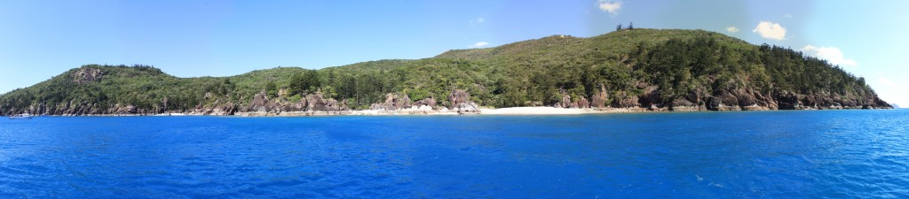 One of the Whitsunday Islands - maybe Black Island?