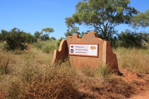 Entry to the Purnululu NP