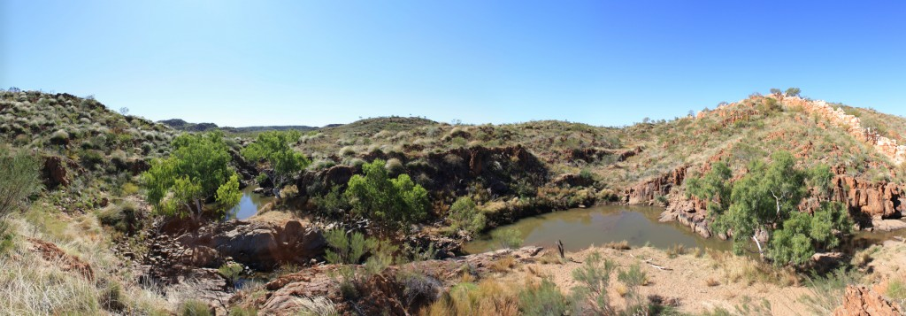 Panorama view of China Wall, Halls Creek
