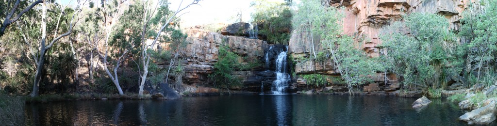 Panorama of Galvans Gorge