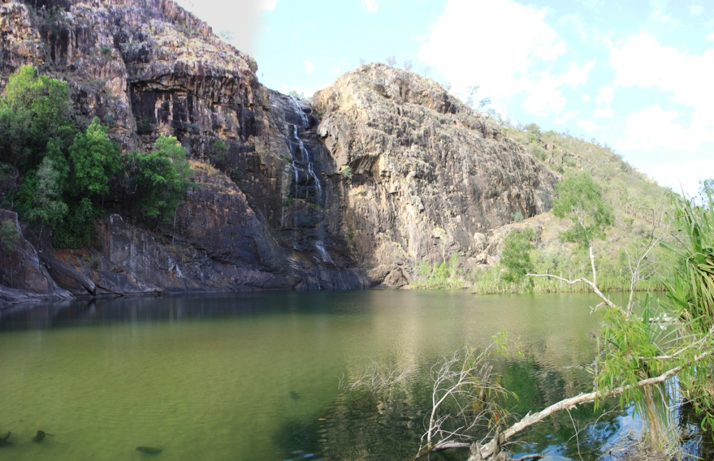 Panorama of Gunlom Falls
