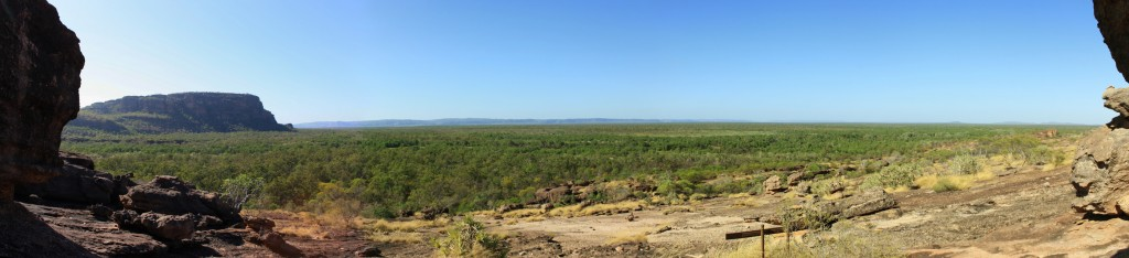 Panorama view from Nawurlandja Lookout