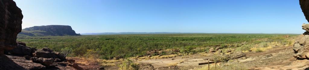 Panorama view from Nawurlandja Lookout
