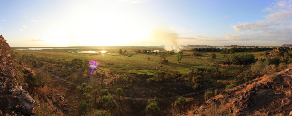 Panorama of Ubirr wetlands no. 1