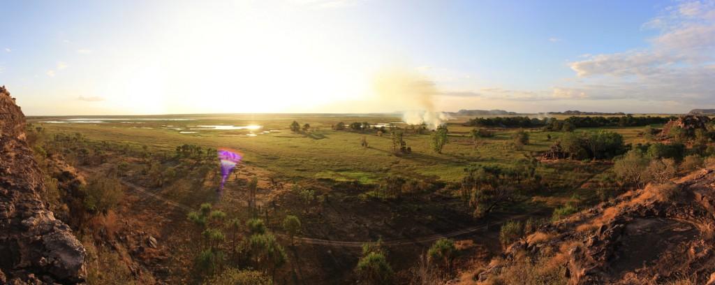 Panorama of Ubirr wetlands no. 1
