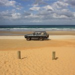 LandCruiser enjoying a day on the beach