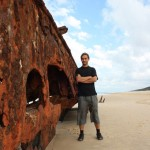 At the Maheno wreck
