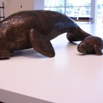 Dugong sculptures