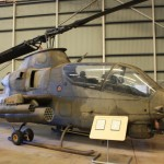 A Cobra attack helicopter