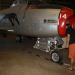 Darwin Aviation Museum: MIG-15 - where's the engine?